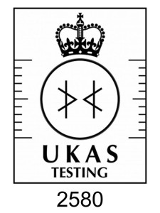 UKAS Accredited Laboratory No. 2580